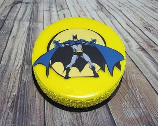 """Торт Зеркальный """"Batman"""" 11CZ"""