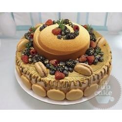 """Свадебный торт """"Золотая Свадьба"""" 11WC"""