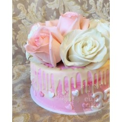 """Свадебный торт """"Розовый букет"""" 12WC"""