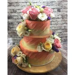 """Свадебный торт """"Букет для невесты"""" 13WC"""