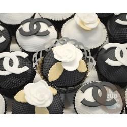 "Капкейки с логотипом ""Chanel"" 35C"