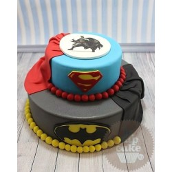 "Торт детский ""Batman v Superman"" 41KC"