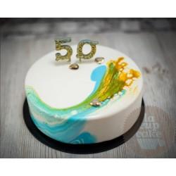 Торт Зеркальный «На Юбилей» 23CZ