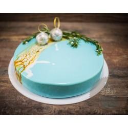 Торт Зеркальный «Новогодние Шары» 24CZ