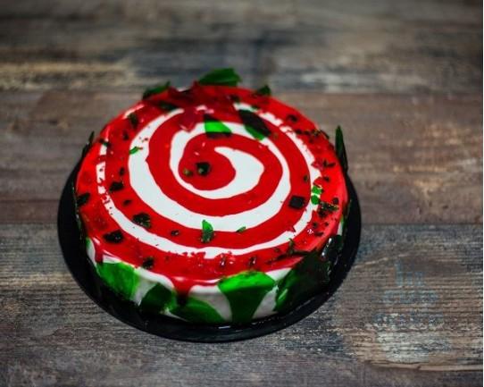 Торт Зеркальный «Змейка» 25CZ