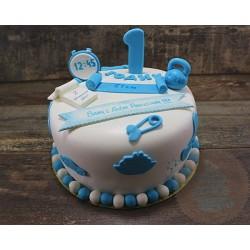Торт детский  «Нам Годик» 42KC