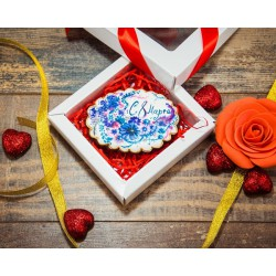 Имбирные печенья «На 8 марта №3» 76IP