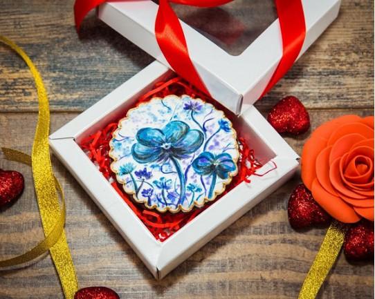 Имбирные печенья «На 8 марта №5» 78IP