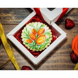 Имбирные печенья «На 8 марта №6» 79IP