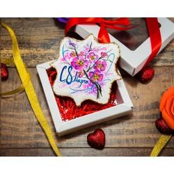 Имбирные печенья «На 8 марта №9» 82IP