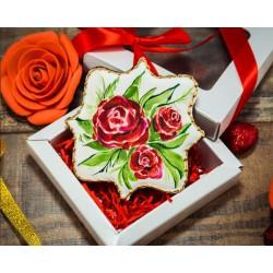 Имбирные печенья «На 8 марта №11» 84IP