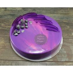 Торт Зеркальный «Зимние Ягоды» 31CZ
