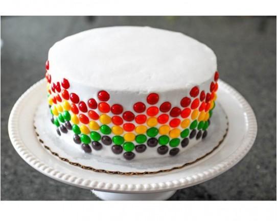 Торт детский  «Радужный» 52KC