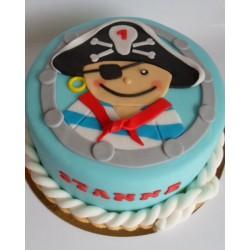 Торт детский  «Пират» 56KC