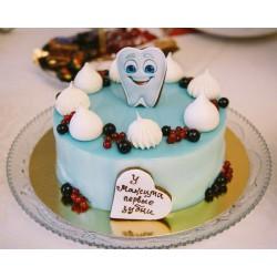 Торт детский  «Первый зубик» 64KC
