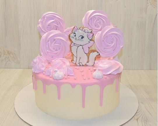 Торт детский  «Кошечка» 68KC