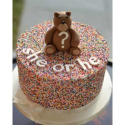 Торт детский  «Кого ждем» 76KC