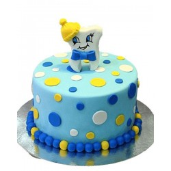 Торт детский  «Зубик» 77KC