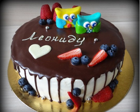 Торт детский  «Совята» 79KC