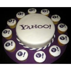 Корпоративный торт «Yahoo» 15CC