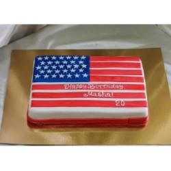 Корпоративный торт «Флаг» 17CC