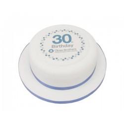 Корпоративный торт «30-летие» 21CC