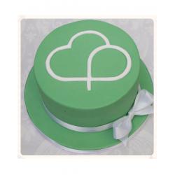 Корпоративный торт «Облачко» 22CC