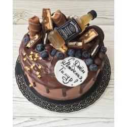 Торт для него «Любителю Виски» 02DN