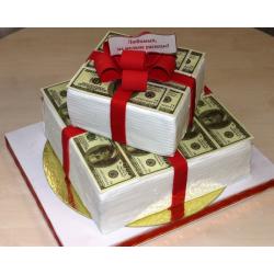 Торт для него «Первый Миллион» 04DN