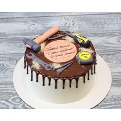 Торт для него «Строим Дом» 11DN