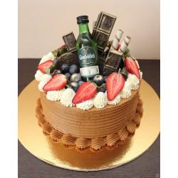 Торт для него «Виски С Шоколадом» 12DN