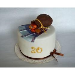 Торт для него «Денежный» 14DN