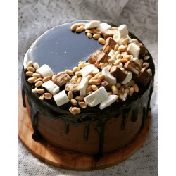 Торт для него «Сникерс» 16DN
