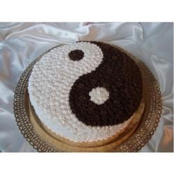 Торт для него «Инь Янь» 21DN