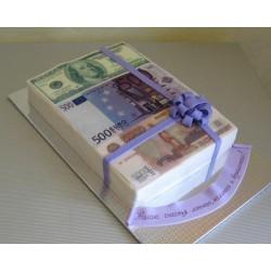 Торт для него «Деньги» 24DN