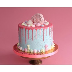 Торт для неё «Воздушный зефир» 01DJ