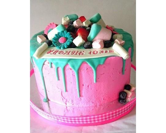 Торт для неё «Ульяне» 04DJ