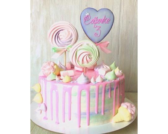 Торт для неё «Софочке» 07DJ