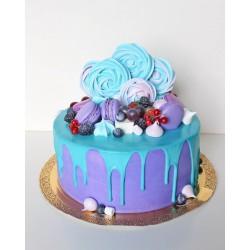 Торт для неё «Цвет Тиффани» 08DJ