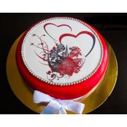 Торт для неё «Валентинка» 10DJ