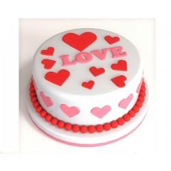 Торт для неё «LOVE» 11DJ