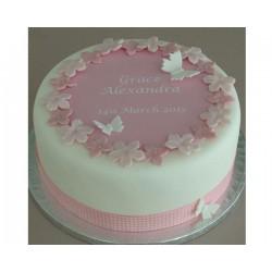 Торт для неё «Бабочки» 14DJ
