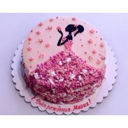 Торт для неё «Принцесса» 15DJ
