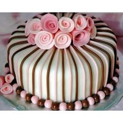 Торт для неё «Букет Роз» 16DJ
