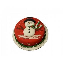 Торт На Праздник «Снеговик» 30NP