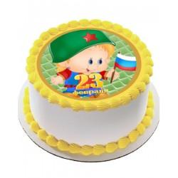 Торт На Праздник «Маленький Защитник» 31NP