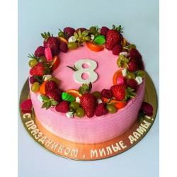 Торт На Праздник «На 8 марта» 33NP