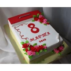 Торт На Праздник «Календарь» 34NP