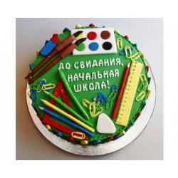 Торт На Праздник «Прощай Школа» 42NP