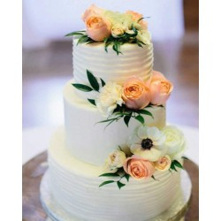 Свадебный торт «Нежность» 25WC